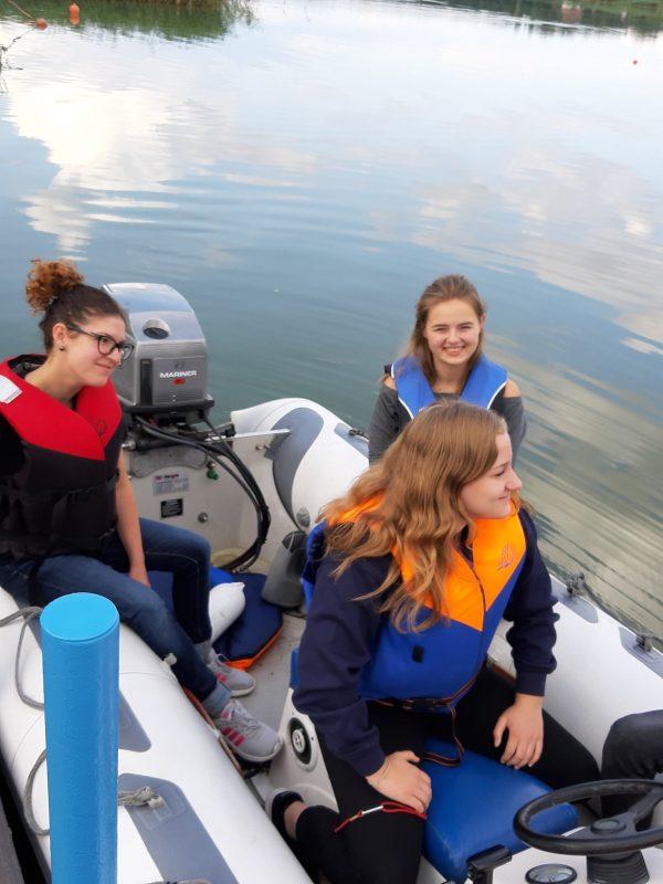 dziewczyny na szkoleniu Opensailing